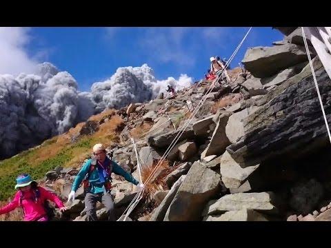 【緊急速報】御嶽山が大噴火、山頂付近で死者・けが人多数