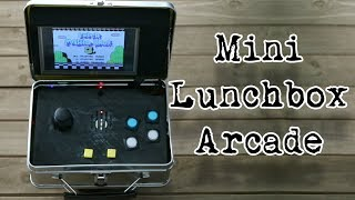 Mini Arcade In A Lunchbox - Weekend Hacker #001