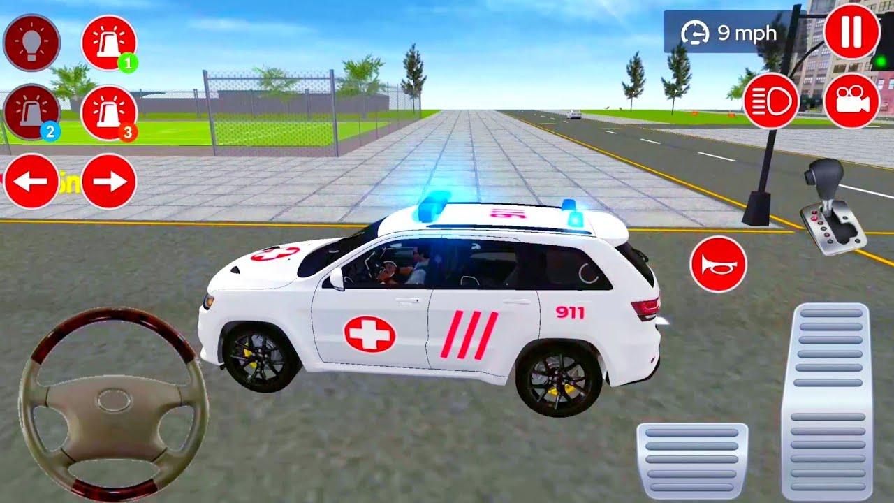 صورة فيديو : العاب سيارات إسعاف برادو 3# – ألعاب أندرويد – العاب سيارات