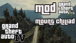 GTA IV - Mount Chiliad inkl. Map (GTA V) Mod + Facecam