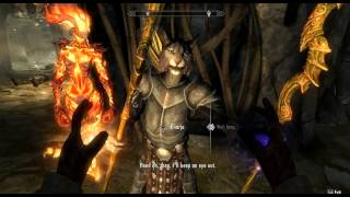 Скачать GMOK 019 Extracting An Argonian Tending The Flames Skyrim Playthrough