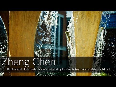 Zheng Chen: Bio-Inspired Underwater Robots Enabled by Electro-Active Polymer Artificial Muscles