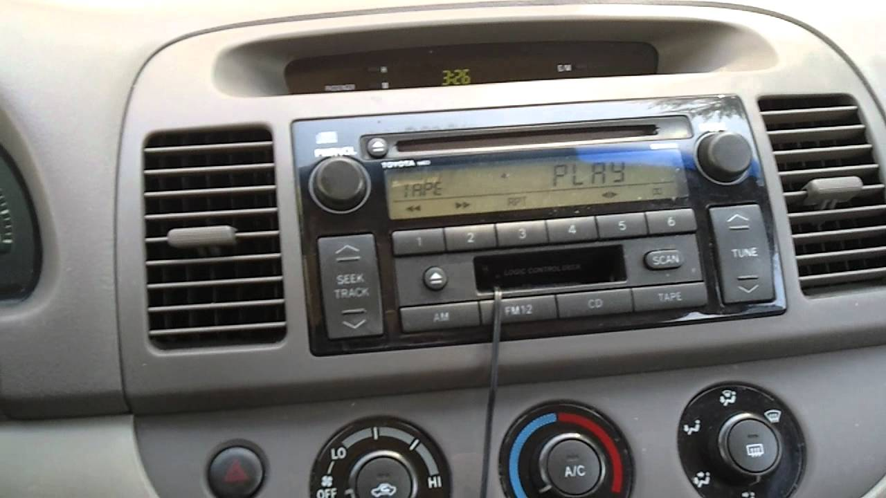 Factory 2003 Toyota Camry Audio System
