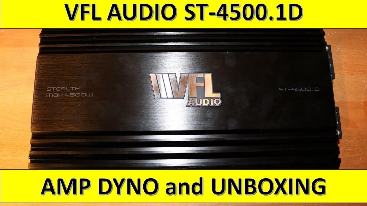 VFL Audio ST45001 D Class Amplifier 4500 Watts Max 1800 Watts RMS American Bass