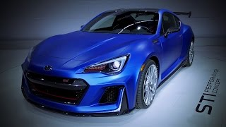 Subaru STI Performance Concept 2015 Videos