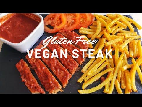 Gluten Free Vegan Steak (Soy and Oil Free)