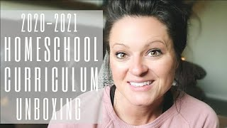 *NEW* 2020-2021 Homeschool Curriculum Unboxing