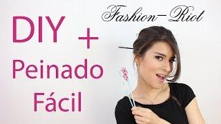 DIY Crea unos lindos palillos chinos para el cabello  | Fashion Riot Thumbnail