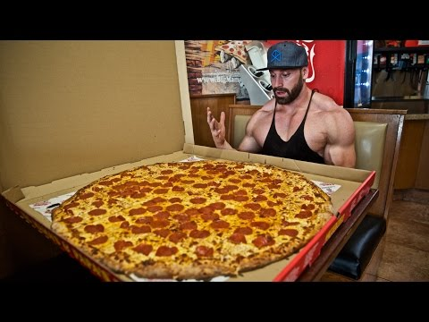 I ATE THE WORLDS BIGGEST PIZZA!