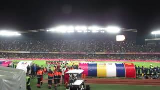 Imnul National al Romaniei in meciul cu Spania 27.03.2016