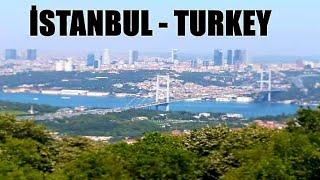 Çamlıca Tepesinden Muhteşem İstanbul Manzarası - İSTANBUL /TURKEY (subs)