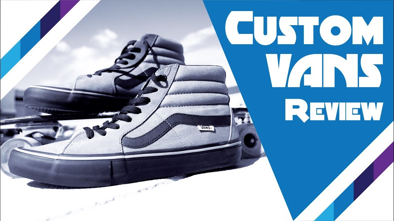 35182b6e7f Custom Vans Review  Are they worth it  - YouTube