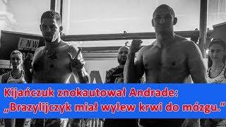 Rafał Kijańczuk odesłał Charlesa Andrade do szpitala