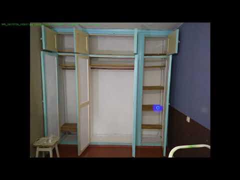 Замена фасада и обустройство внутреннего пространства четырёхстворчатого шкафа