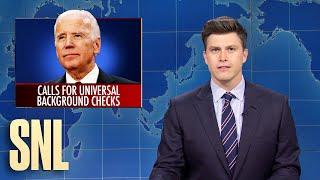 Weekend Update: Biden Calls for Gun Control - SNL