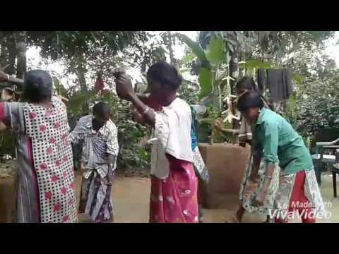 Traditional tribal dance with paniyas of Wayanad