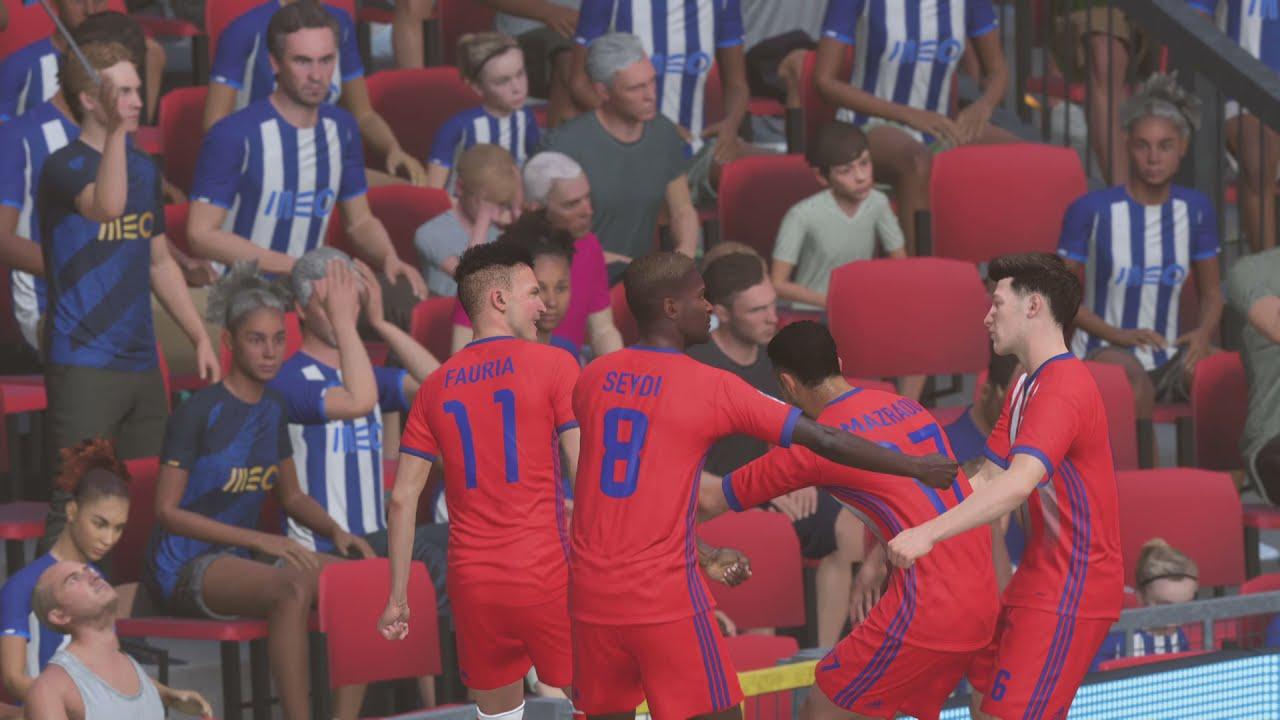 Download Noussair Mazraoui Golaso MAT Tetouan against Porto FIFA 22