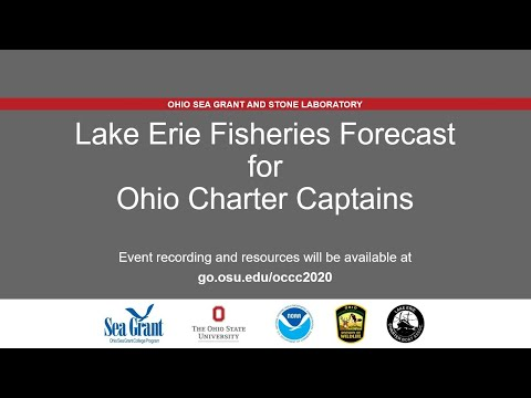 Lake Erie Fisheries Forecast for Ohio Charter Captains 2020