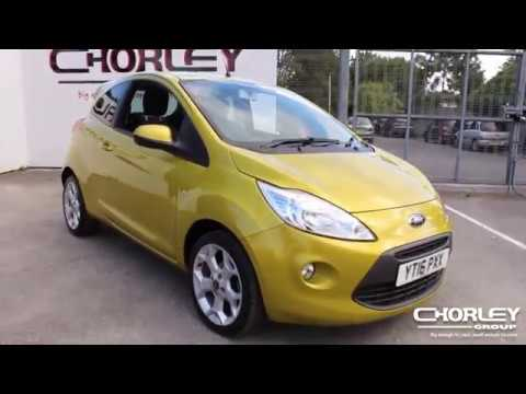 Ford Ka  L Zetec Yellow