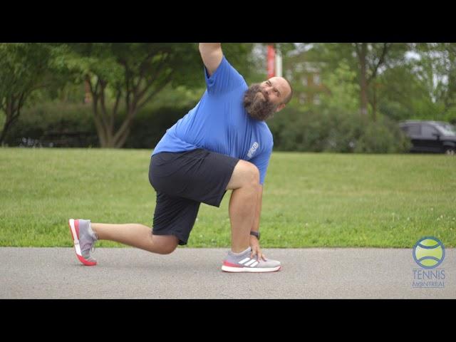 Coach Virtuel - S3E5: Un échauffement statique ou dynamique avant de jouer au tennis 🎾 ?
