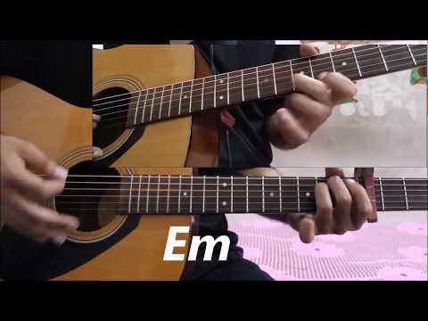 Oh Humsafar - Neha kakkar ft. Tony Kakkar - Hindi Easy Guitar Lesson Cover Chords