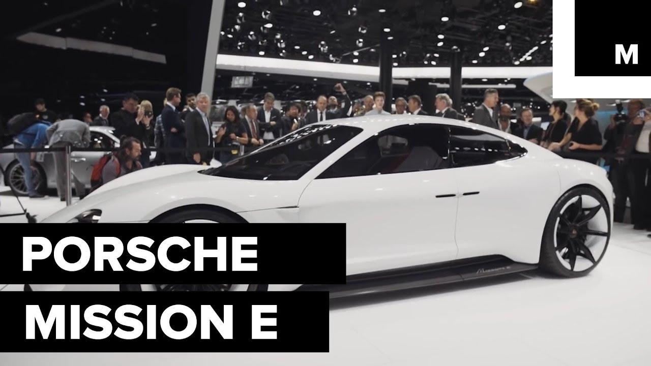 New Porsche Mission E