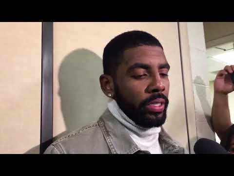 Kyrie Irving after leading Celtics to 7th Straight Win (PostGame vs Thunder)