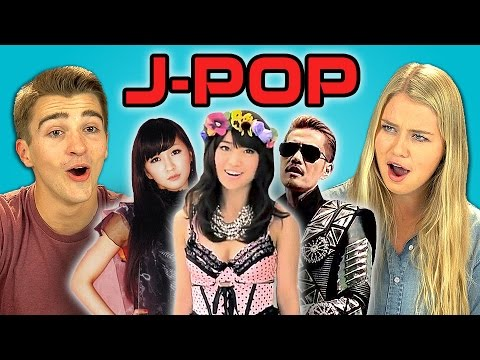 Teens React to J-pop