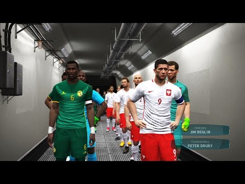 Group H    Poland vs Senegal Full Match    FIFA World Cup 2018 Russia    Gameplay