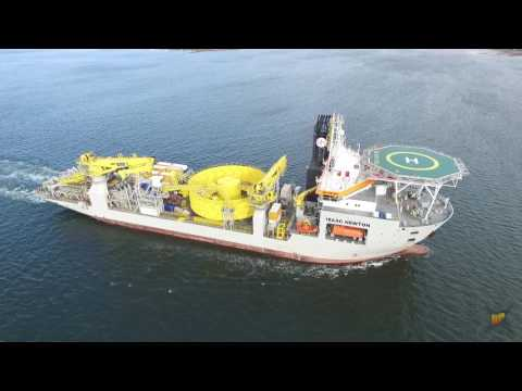 Cable Laying Ship Isaac Newton