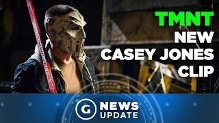 Ninja Turtles Trailer Shows Casey Jones Beating Baddies With a Hockey Stick - GS News Update