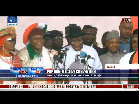 We Are Very Ready For 2019-- Goodluck Jonathan