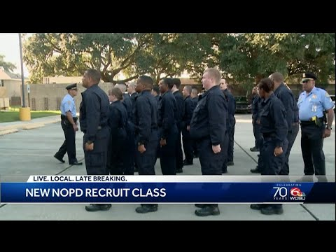 NOPD welcomes new recruit class
