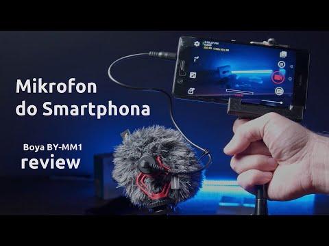 Boya BY-MM1 - przegląd, testy, recenzja mikrofonu do smartphona