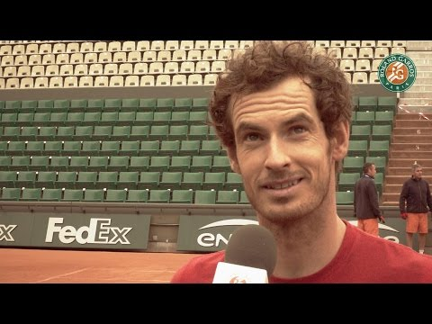 Roland-Garros 2016 - Andy Murray first practice