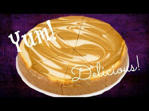 Pumpkin Swirl Cheesecake Recipe || MickIsAMom