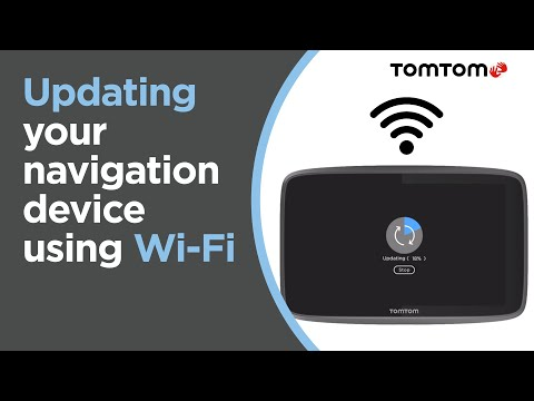 Updating Your Navigation Device Using Wi-Fi®