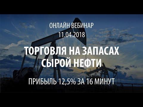 Торговля на новостях запасы сырой нефти в прямом эфире онлайн