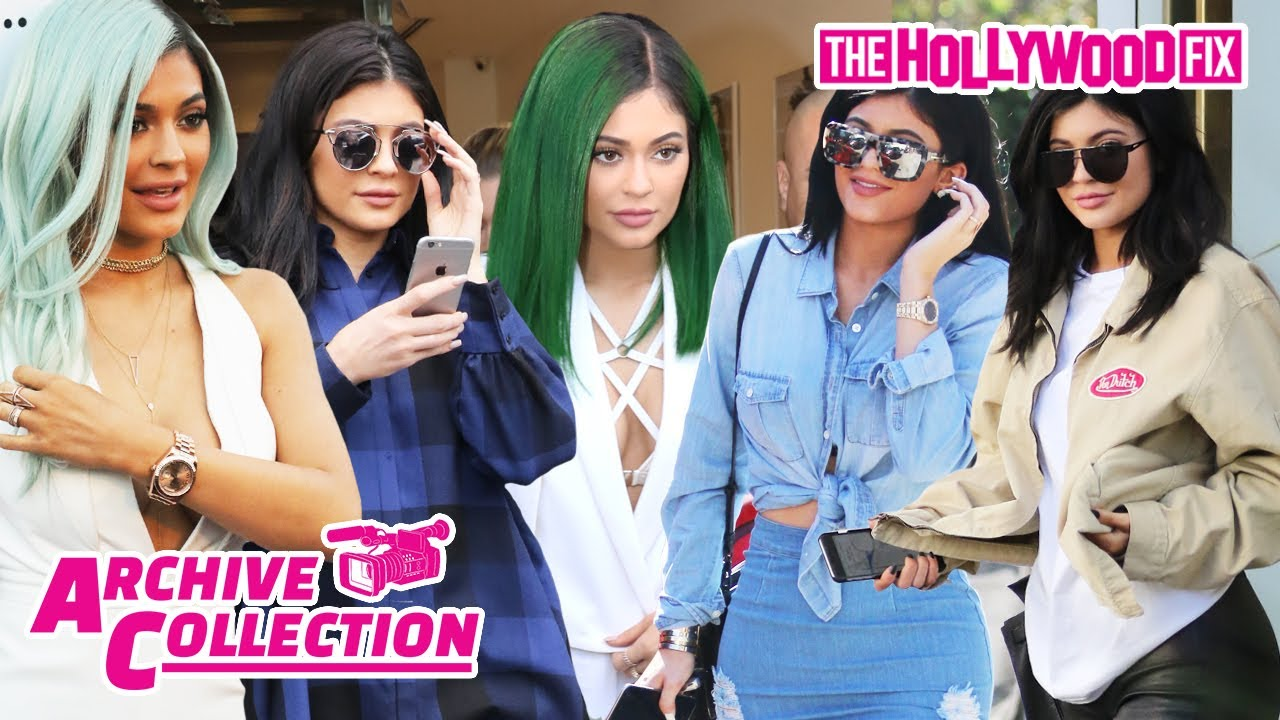 Kylie Jenner Archive Collection: The Ultimate Hollywood Fix Paparazzi Video Megamix 11.3.20