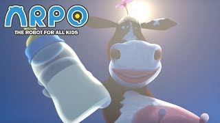 ARPO The Robot For All Kids - Get Milk | Compilation | Cartoon for Kids