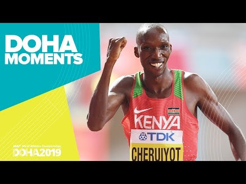 Cheruiyot Charges to 1500m Gold | World Athletics Championships 2019 | Doha Moments