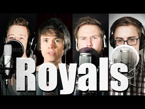 Royals - Lorde (Official Music Video Cover) - Roomie & Friends