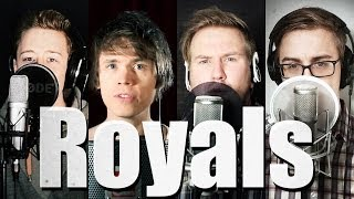 Repeat youtube video Royals - Lorde (Official Music Video Cover) - Roomie & Friends