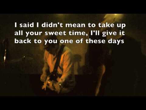 Voodoo Child lyrics on screen Jimi Hendrix cover by Cornered Men
