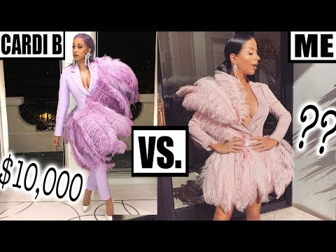 MAKING CARDI B'S CLOTHES (*for cheap!*)