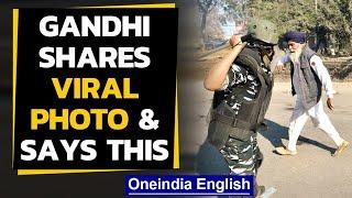 Viral photo of jawan & kisan faceoff: Rahul Gandhi said... | Oneindia News