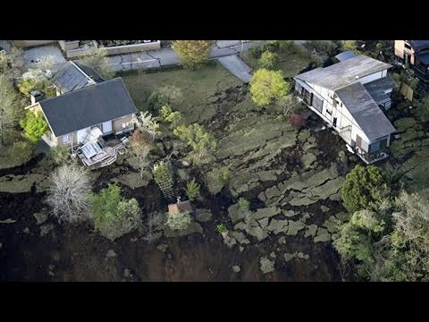 Japan Earthquake: Aerial View of Damage