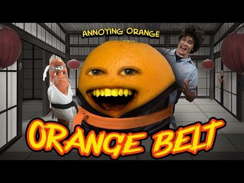 Annoying Orange HFA - ORANGE BELT (ft. Tobuscus \u0026 Billy Dee Williams)
