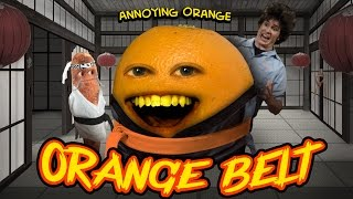 Annoying Orange HFA - ORANGE BELT (ft. Tobuscus & Billy Dee Williams)