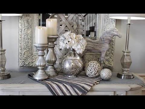 Decorate With Me Dining Room Buffet Vignettes Ideas
